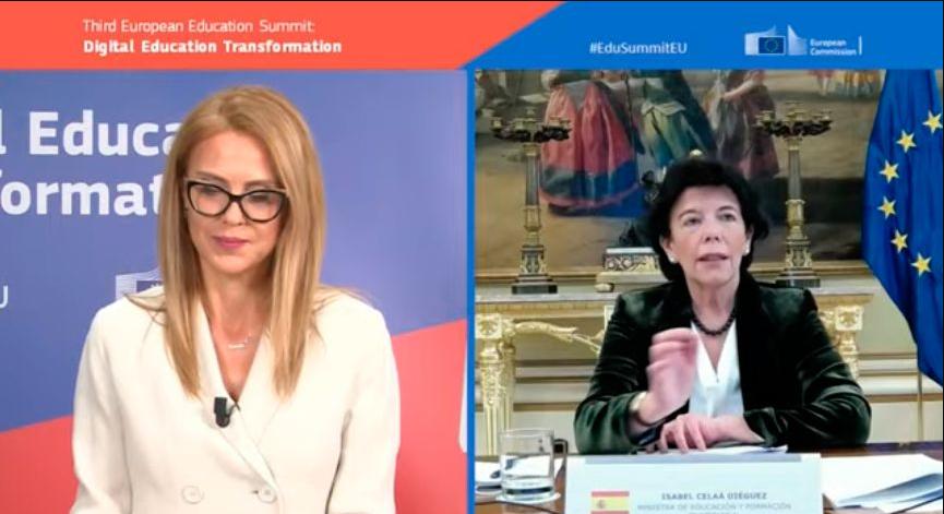Isabel Celaá sitúa la transformación de la FP como prioridad estratégica del Gobierno para lograr una sociedad sostenible, digital y verde.